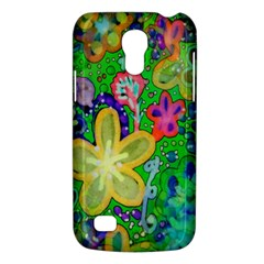 Beautiful Flower Power Batik Samsung Galaxy S4 Mini (gt I9190) Hardshell Case