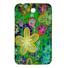 Beautiful Flower Power Batik Samsung Galaxy Tab 3 (7 ) P3200 Hardshell Case