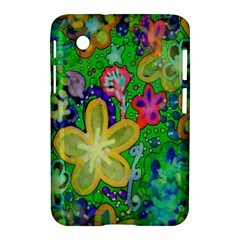 Beautiful Flower Power Batik Samsung Galaxy Tab 2 (7 ) P3100 Hardshell Case