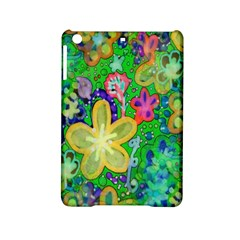 Beautiful Flower Power Batik Apple iPad Mini 2 Hardshell Case
