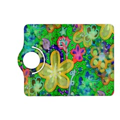 Beautiful Flower Power Batik Kindle Fire Hd 7  (2nd Gen) Flip 360 Case