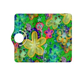 Beautiful Flower Power Batik Kindle Fire HDX 8.9  Flip 360 Case