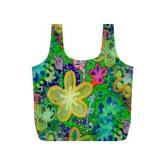 Beautiful Flower Power Batik Reusable Bag (s)