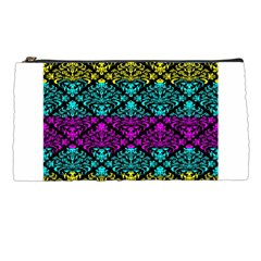 Cmyk Damask Flourish Pattern Pencil Case