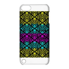 Cmyk Damask Flourish Pattern Apple iPod Touch 5 Hardshell Case with Stand