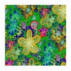 Beautiful Flower Power Batik Glasses Cloth (Medium)