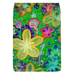 Beautiful Flower Power Batik Removable Flap Cover (Small)