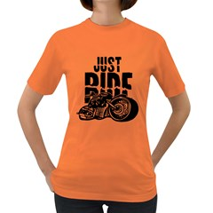 Justride Women s T Shirt (colored)