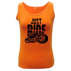 Justride Women s Tank Top (Dark Colored)