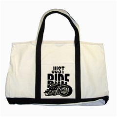 Justride Two Toned Tote Bag