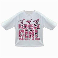 Redneck Girl Pink Camo Ducks Baby T-shirt