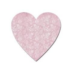 Elegant Vintage Paisley  Magnet (Heart)