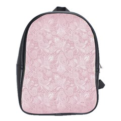 Elegant Vintage Paisley  School Bag (xl)