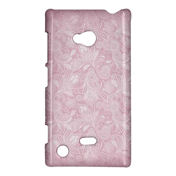Elegant Vintage Paisley  Nokia Lumia 720 Hardshell Case