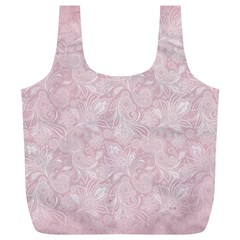 Elegant Vintage Paisley  Reusable Bag (XL)