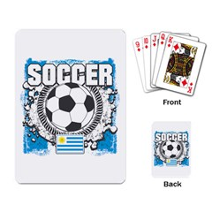 Soccer Uruguay Playing Cards Single Design