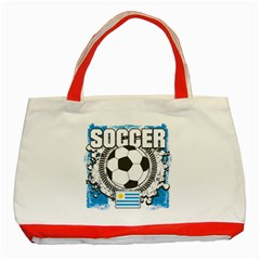 Soccer Uruguay Classic Tote Bag (Red)
