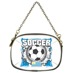 Soccer Uruguay Chain Purse (two Sides)