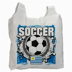 Soccer Uruguay Recycle Bag (two Side)