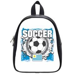 Soccer Uruguay School Bag (small)