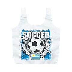 Soccer Uruguay Full Print Recycle Bag (M)