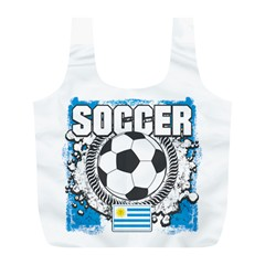 Soccer Uruguay Full Print Recycle Bag (L)