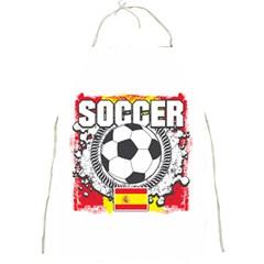 Soccer Spain Full Print Apron