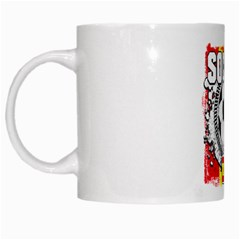 Soccer Spain White Mug