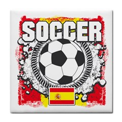 Soccer Spain Face Towel