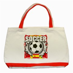 Soccer Spain Classic Tote Bag (Red)