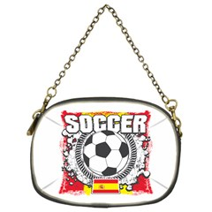 Soccer Spain Chain Purse (one Side)