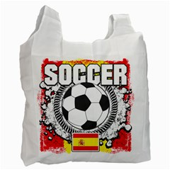 Soccer Spain Recycle Bag (two Side)