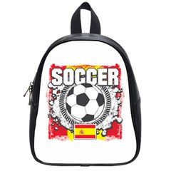 Soccer Spain School Bag (small)