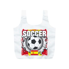 Soccer Spain Full Print Recycle Bag (S)