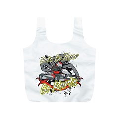 Lets Race Go Karts Full Print Recycle Bag (s)