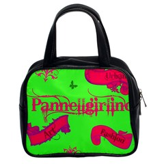 Pannellgirlinc Classic Handbag (two Sides)