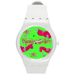 Pannellgirlinc Plastic Sport Watch (Medium)