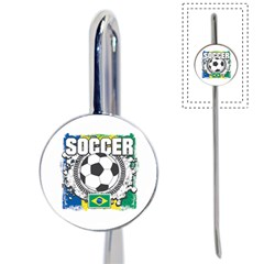 Soccer Brazil Book Mark
