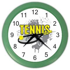 Tennis Color Wall Clock