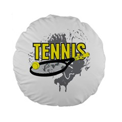 Tennis 15  Premium Round Cushion