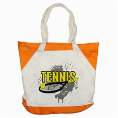 Tennis Accent Tote Bag