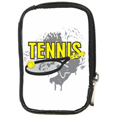 Tennis Compact Camera Leather Case
