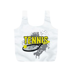Tennis Full Print Recycle Bag (S)