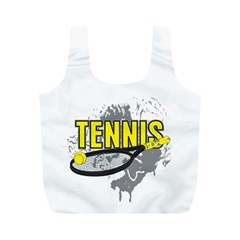 Tennis Full Print Recycle Bag (M)