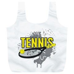 Tennis Full Print Recycle Bag (XL)