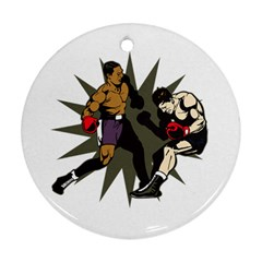 Knockout Boxing Ornament (Round)