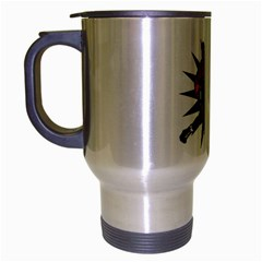 Knockout Boxing Travel Mug (silver Gray)