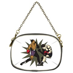 Knockout Boxing Chain Purse (two Sides)