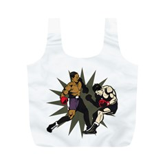 Knockout Boxing Full Print Recycle Bag (M)