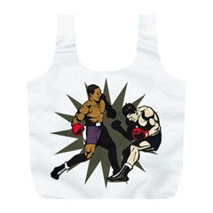 Knockout Boxing Full Print Recycle Bag (L)